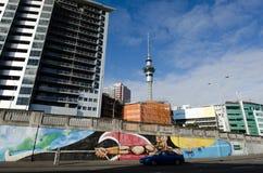 Auckland pejzaż miejski Fotografia Royalty Free