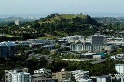 Auckland pejzaż miejski - góra Eden Obraz Stock