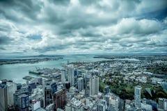 Auckland podupadła część śródmieścia Zdjęcia Stock