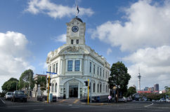 Auckland - Ponsonby. AUCKLAND, NZ - MAY 27:An old building in Ponsonby road on May 30 2013.It's known for its vibrant restaurants, cafes, art galleries, up Royalty Free Stock Image