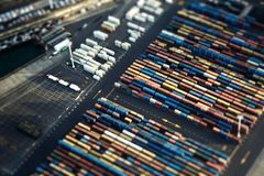 Auckland port Stock Images