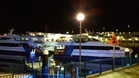 Auckland port Arkivfoto