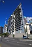 Auckland ?r en h?rlig stad i Nya Zeeland fotografering för bildbyråer