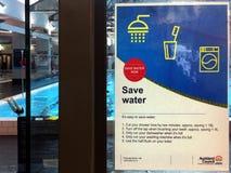 Auckland riskeert slechtste watercrisis in 20 jaar Stock Fotografie