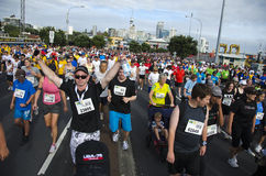 Auckland Round The Bays Fun Run Stock Photo