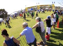 Auckland Run Walk Round the Bays Stock Photo