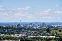 Auckland seen on the top of one tree hill Stock Photography