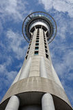 Auckland Sky Tower Communications & Tourist Attraction Closeup V Stock Image