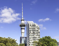 Auckland Sky Tower, New Zealand Stock Photography
