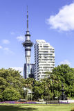 Auckland Sky Tower, New Zealand Royalty Free Stock Photos