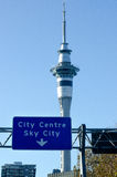 Auckland Sky Tower Royalty Free Stock Image