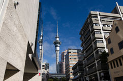 Auckland Sky Tower Stock Images