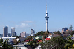 Auckland Sky Tower Stock Photo