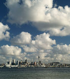 Auckland skyline. From North Shore, New Zealand Royalty Free Stock Image