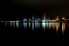 Auckland skyline landscape Royalty Free Stock Photos