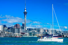 Auckland Skyline Royalty Free Stock Photo