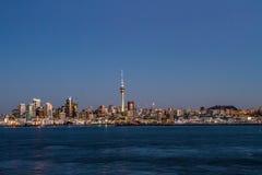 Auckland skyline, New Zealand Stock Photos