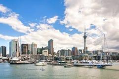 Auckland skyline. New Zealand, Auckland skyline in summer Royalty Free Stock Photos