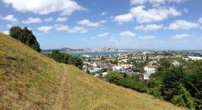 Auckland skyline panorama Stock Photography