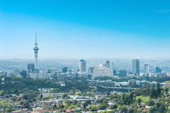 Auckland skyline Stock Images