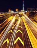 Auckland Skyline. Taken in 2015 taken in HDR Stock Photos