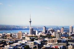 Auckland stad Arkivbild