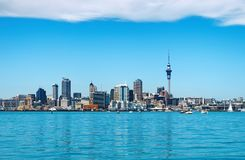 auckland stad New Zealand royaltyfri foto