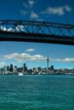 Auckland - staden av seglar Royaltyfri Fotografi
