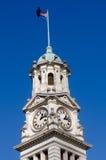 Auckland stadHall Clock torn Fotografering för Bildbyråer
