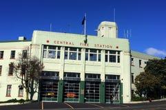 Auckland-Stadt-Feuerwache - Neuseeland stockfotos