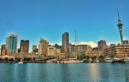 Auckland-Stadt und -Seeblicke, Stockbilder