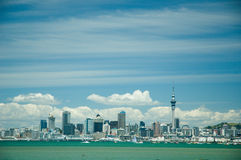 Auckland-Stadtansicht Lizenzfreies Stockbild