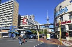 Auckland strand - Nya Zeeland Arkivfoton