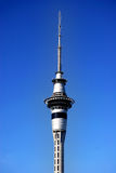 Auckland tower with blue sky Royalty Free Stock Photography