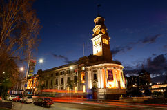 Auckland town hall on Queen Street in Auckland New Zealand Stock Images