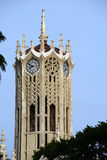 Auckland Uni clock tower Royalty Free Stock Photo