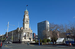 Auckland urząd miasta - Nowa Zelandia Zdjęcie Stock
