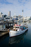 Auckland Viaduct Harbor Basin Stock Photos