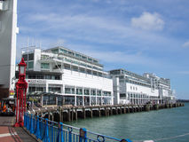 Auckland viadukthamn, Auckland, Nya Zeeland royaltyfria bilder
