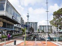 Auckland viadukthamn, Auckland, Nya Zeeland royaltyfri foto