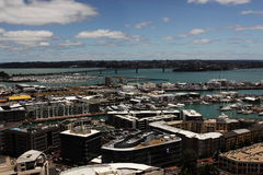 Auckland waterfront. View of Auckland waterfront New Zealand Royalty Free Stock Image