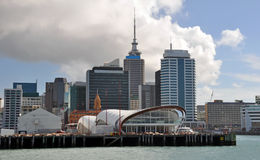Auckland Waterfront Buildings, New Zealand Royalty Free Stock Images