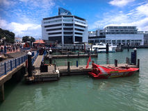 Auckland waterfront - New Zealand Royalty Free Stock Photo