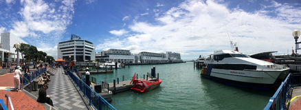 Auckland waterfront - New Zealand Royalty Free Stock Image