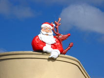 Auckland Weihnachtsmann Stockbild