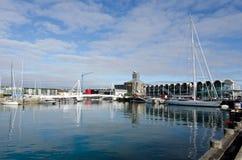Auckland wiaduktu schronienia basen Obrazy Stock