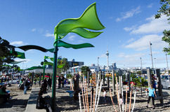 Auckland Wynyard-quarter Playspace Royalty Free Stock Photo