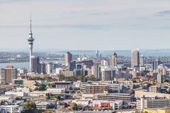 Auckland, Zealand novo 12 de dezembro de 2013 Arquitetura da cidade de Auckland imagens de stock royalty free