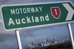 Auckland-Zeichen Lizenzfreies Stockfoto