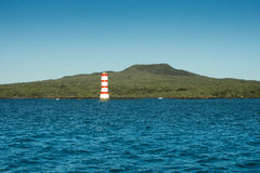 Aucklands Iconic Rangitoto Island Royalty Free Stock Photo